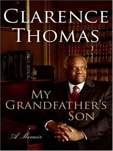 My Grandfather's Son A Memoir Large Type  9780061374739 Front Cover