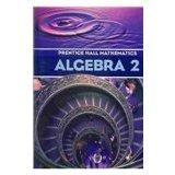 Algebra II:  2004 edition cover