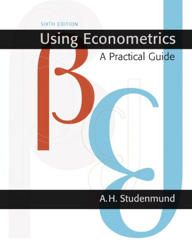Using Econometrics A Practical Guide 6th 2011 edition cover