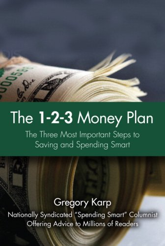 1-2-3 Money Book Straight Talk for Saving and Spending Smart  2009 9780137141739 Front Cover