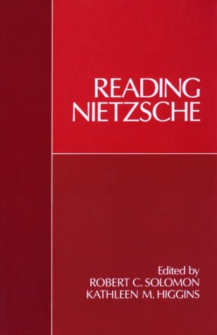 Reading Nietzsche   1988 (Reprint) edition cover