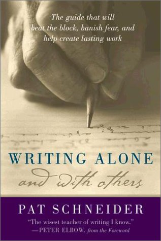 Writing Alone and with Others   2003 edition cover