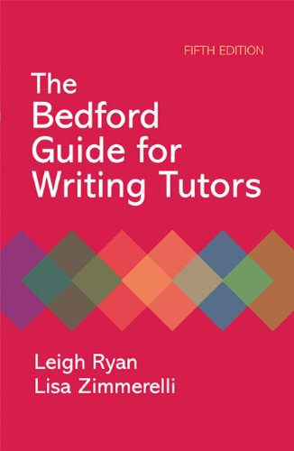 Bedford Guide for Writing Tutors  5th 2010 edition cover