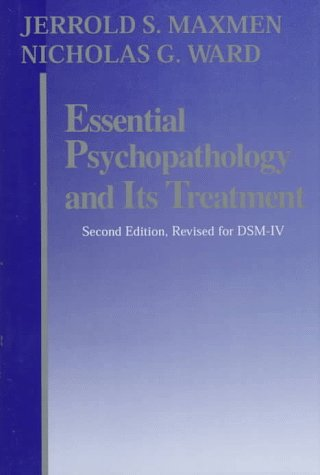 Essential Psychopathology and It's Treatment  2nd 1995 edition cover