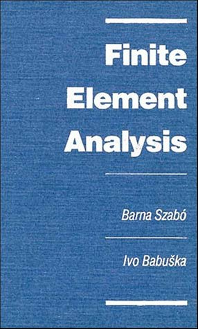 Finite Element Analysis   1991 edition cover