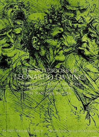 Notebooks of Leonardo da Vinci   1970 (Reprint) edition cover