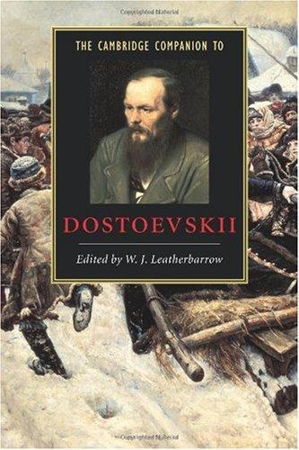 Cambridge Companion to Dostoevskii   2002 edition cover