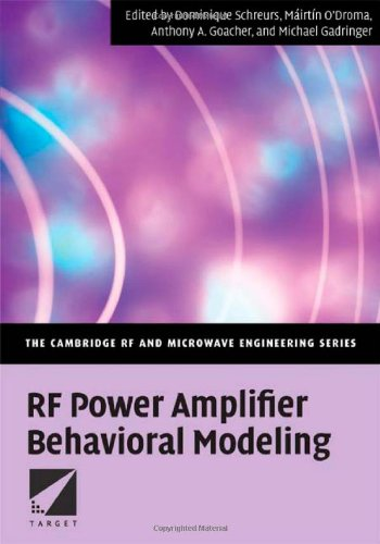RF Power Amplifier Behavioral Modeling   2008 9780521881739 Front Cover