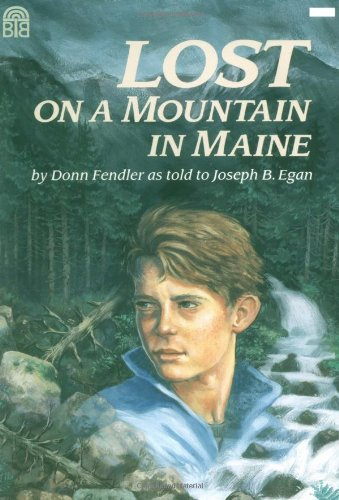 Lost on a Mountain in Maine   1992 edition cover