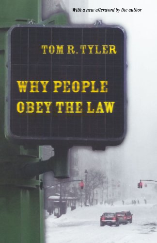 Why People Obey the Law   2006 (Revised) edition cover