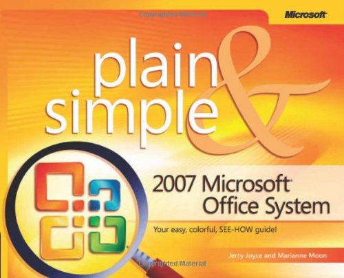 Microsoft� Office System   2007 (Revised) edition cover