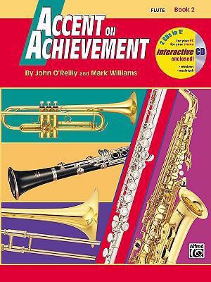 Accent on Achievement, Bk 2 Flute, Book and CD  1998 edition cover