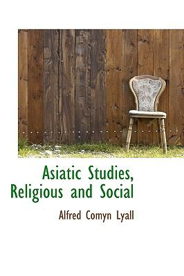 Asiatic Studies, Religious and Social:   2009 edition cover