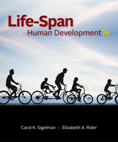 Life-Span Human Development  7th 2012 edition cover