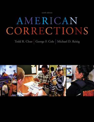 American Corrections  10th 2013 9781133049739 Front Cover