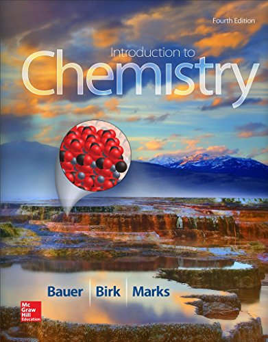 Introduction to Chemistry:   2015 edition cover