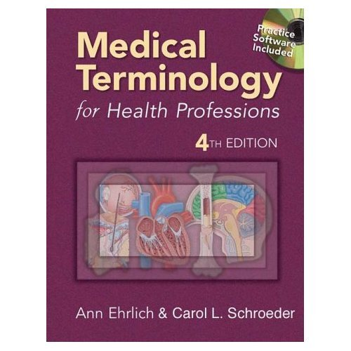 Medical Terminology for Health Professions: 4th 2003 9781401821739 Front Cover