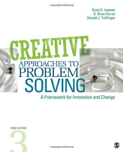 Creative Approaches to Problem Solving A Framework for Innovation and Change 3rd 2011 edition cover