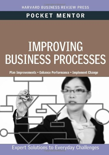 Improving Business Processes   2011 edition cover
