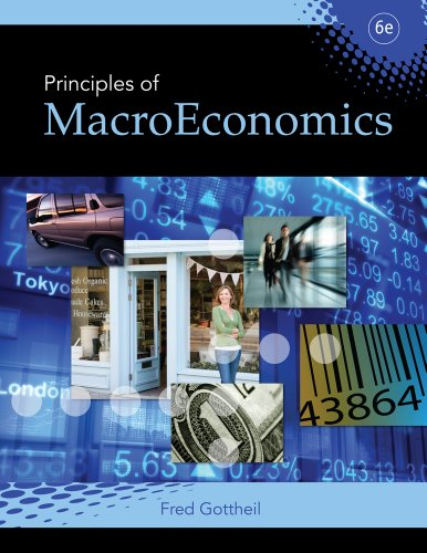 Principles of Macroeconomics  6th 2010 edition cover