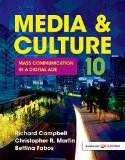Media and Culture An Introduction to Mass Communication 10th 2015 9781457668739 Front Cover