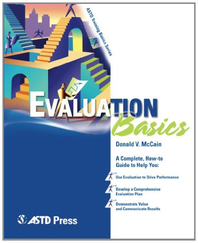 Evaluation Basics   2005 9781562863739 Front Cover