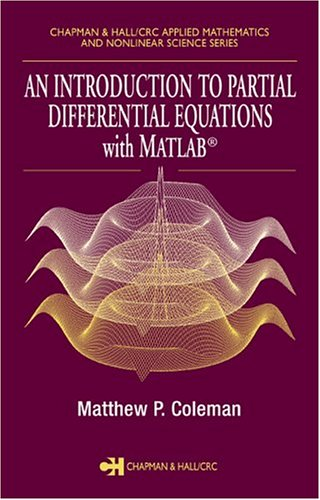 Introduction to Partial Differential Equations with MATLAB   2004 edition cover