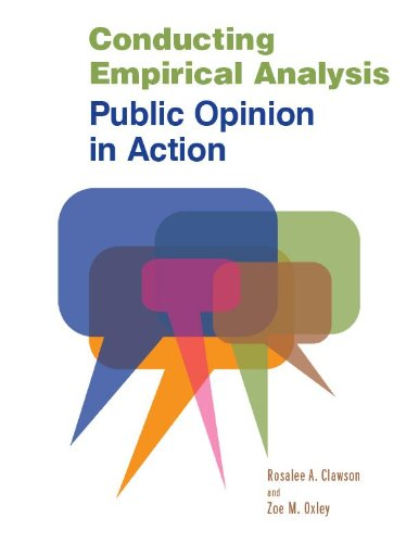 Conducting Empirical Analysis Public Opinion in Action  2009 (Revised) edition cover