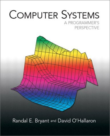 Computer Systems A Programmer's Perspective  2003 edition cover