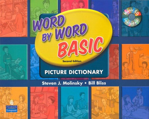 Word by Word Basic with WordSongs Music CD  2nd 2008 edition cover