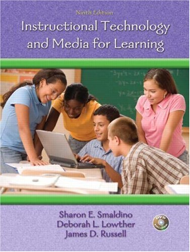 Instructional Technology and Media for Learning  9th 2008 edition cover