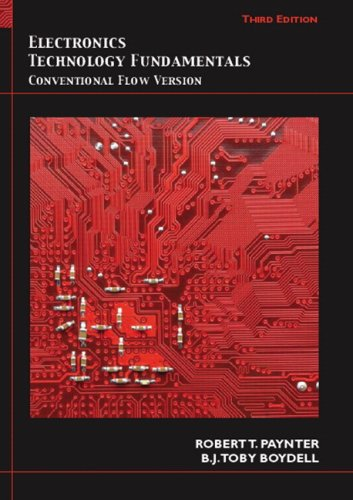 Electronics Technology Fundamentals Conventional Flow Version 3rd 2009 edition cover