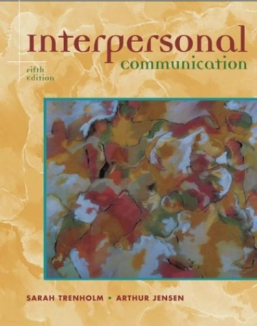 Interpersonal Communication  5th 2003 (Revised) edition cover