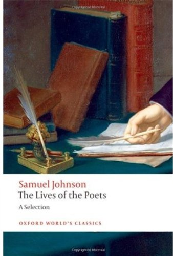 Lives of the Poets A Selection  2009 edition cover