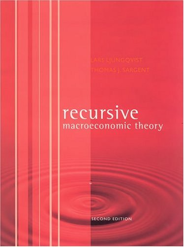 Recursive Macroeconomic Theory  2nd 2004 edition cover