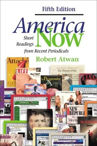 America Now Short Readings from Recent Periodicals 5th 2003 edition cover