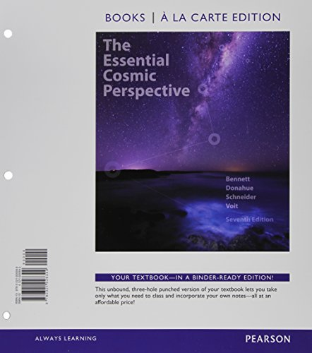 Essential Cosmic Perspective, the, Books a la Carte Plus MasteringAstronomy with EText -- Access Card Package  7th 2015 9780321928740 Front Cover