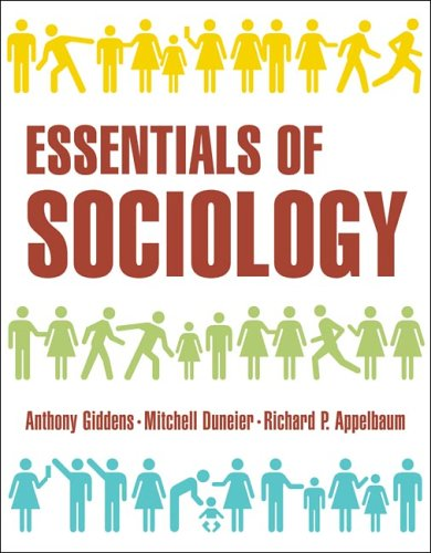 Essentials of Sociology   2005 edition cover