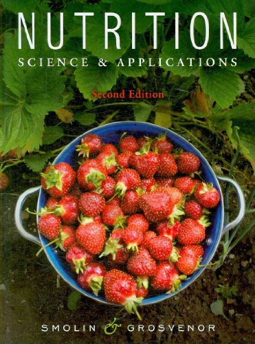 Nutrition Science and Applications 2nd 2010 edition cover
