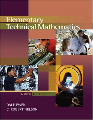 Elementary Technical Mathematics  9th 2007 edition cover
