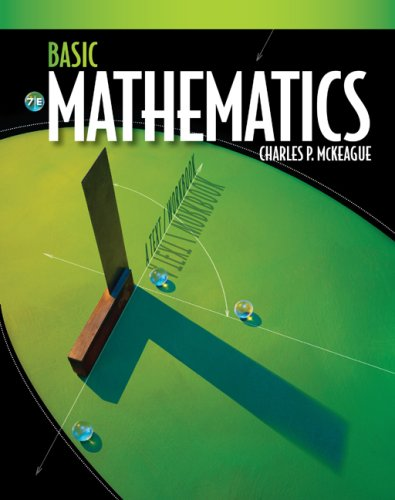 Basic Mathematics  7th 2010 9780495559740 Front Cover