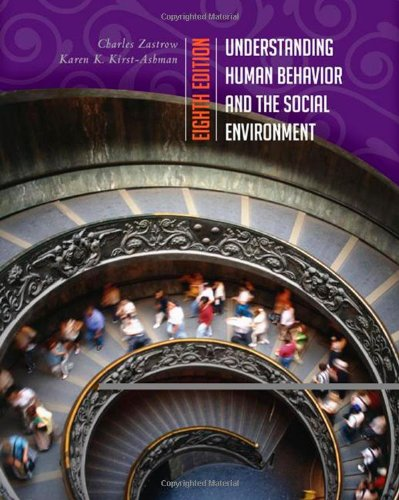 Understanding Human Behavior and the Social Environment  8th 2010 edition cover