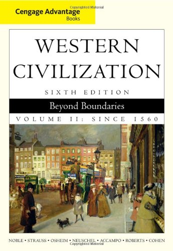 Western Civilization Beyond Boundaries 6th 2011 edition cover