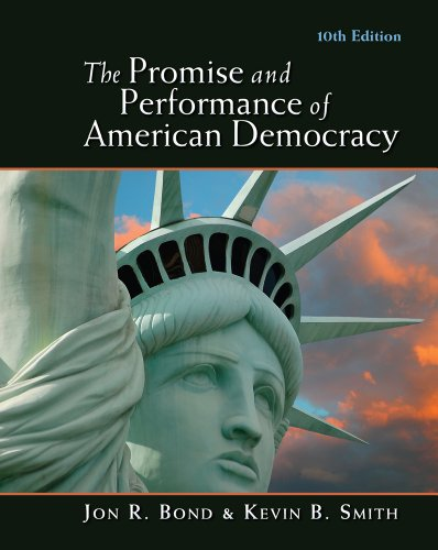 Promise and Performance of American Democracy  10th 2012 edition cover