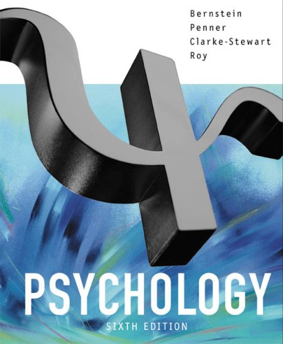 Psychology  6th 2003 9780618213740 Front Cover