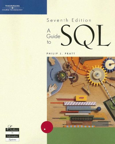 Guide to SQL  7th 2005 (Revised) edition cover