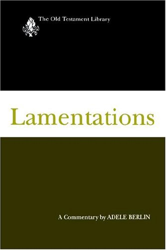 Lamentations A Commentary N/A edition cover