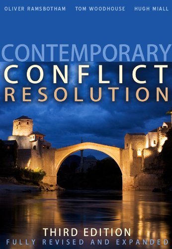 Contemporary Conflict Resolution  3rd 2011 edition cover