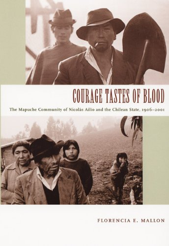 Courage Tastes of Blood The Mapuche Community of Nicol�s Ail�o and the Chilean State, 1906-2001  2005 edition cover