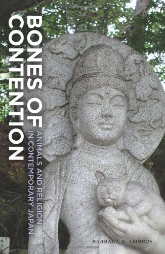 Bones of Contention Animals and Religion in Contemporary Japan  2012 9780824836740 Front Cover